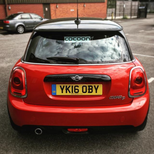 We are loving the New Mini in the @cocoonvehicles office and so are our customers with 5 already delivered this month on fixed contracts. This is the first out on flexible!