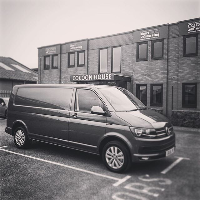 VW Transporter T6 in grey ready to go out to a new customer!