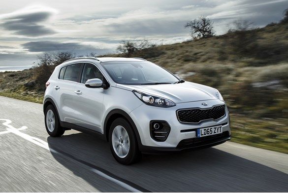 Kia Sportage Limited Offer on 36 Month Contract Hire