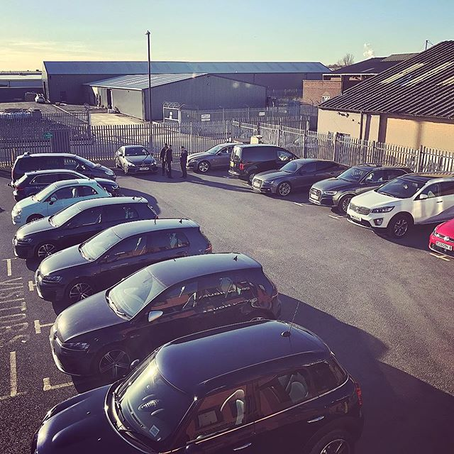 It's very busy here at @cocoonvehicles HQ in Derby! Lots of collections and lots of shiny new cars for delivery!