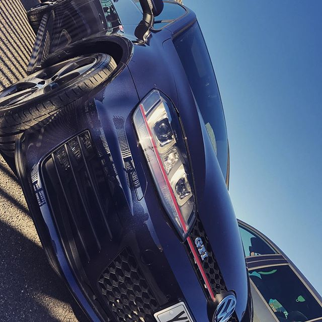 """Going Out Today: VW Golf GTi in Night Blue! 5dr and the perfect DSG gearbox Short and Long Term Car Leasing : 0330 330 9425 : or GOOGLE """"Cocoon Vehicles"""""""