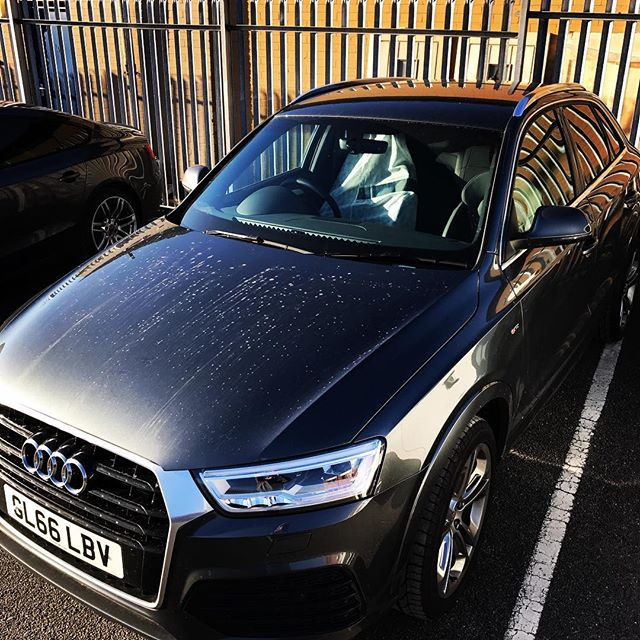 """Audi Q3 off out to a customer on a 7 month contract! Short and Long Term Car Leasing : 0330 330 9425 : or GOOGLE """"Cocoon Vehicles"""""""