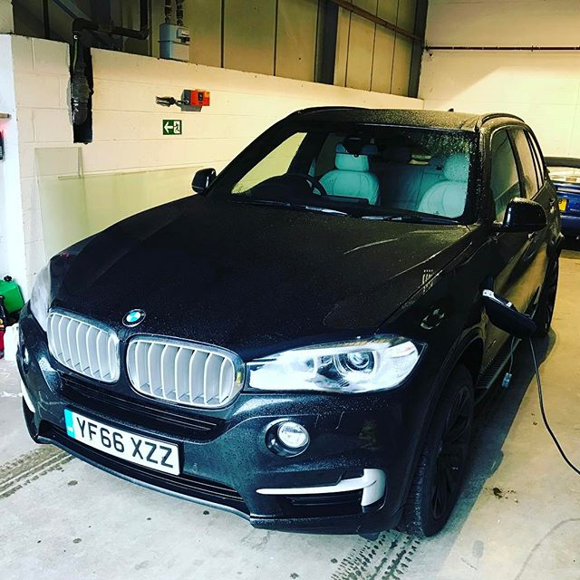 """BMW X5 Plugin Hybrid on charge ready for local accountancy firm to collect! Short and Long Term Car Leasing : 0330 330 9425 : or GOOGLE """"Cocoon Vehicles"""""""
