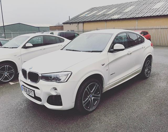 BMW X4's few available after being out on hire! Call the team on 01332 290173 for details!