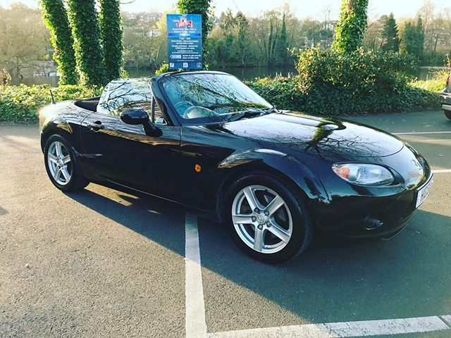 "This little MX5 is for sale! Contact the team on 01332290173 to find out more! GOOGLE ""Cocoon Vehicles"""