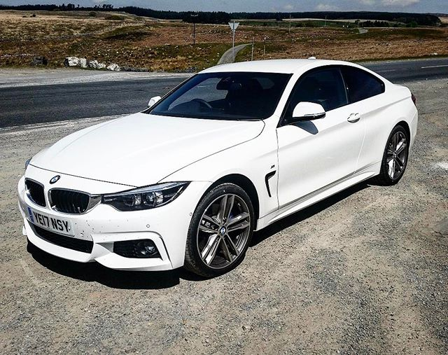 """Delivered today to an existing customer in : BMW 4 Series Coupe! The Two Door! Short and Long Term Car Leasing : 0330 330 9425 : or GOOGLE """"Cocoon Vehicles"""""""
