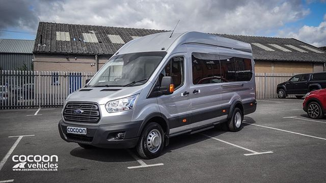 Short Term Minibus ready to go down to London for a Football Team