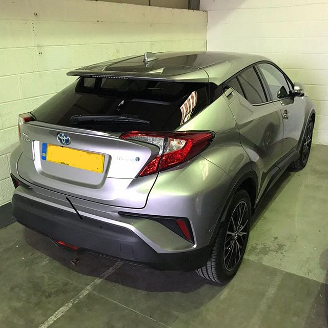 Another Short Term Hybrid hitting the roads today! The fantastic Toyota C-HR
