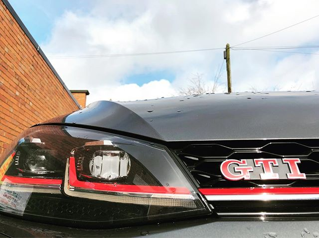 It's always a when you've got a Short Term VW Golf GTi being delivered!
