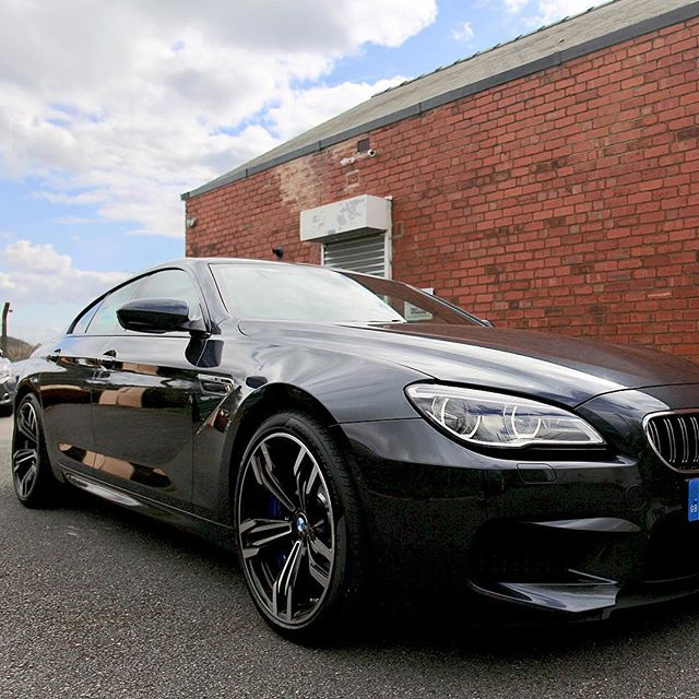 Collected by an existing customer today... The BMW M6 Gran Coupe... Just short of £100k's worth of vehicle and 600bhp!