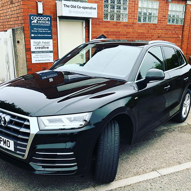 Yes this is another Audi Q5 2.0TFSi on its way to a customer in - welcome to