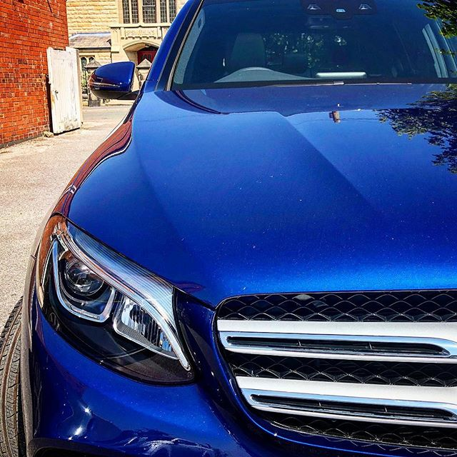 Another GLC on Fleet, in Brilliant Blue! Get one today on Flexi-rent!