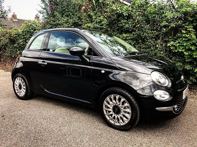 This little @fiat_uk 500 is being delivered to an existing customer tomorrow.