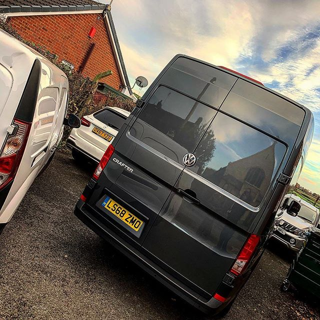 VW Crafter 2 Of 2 Which Had The Rhino Roof Rack And