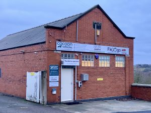 Photo of Cocoon Vehicles office at the Old Co-op in Belper