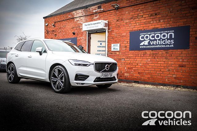 The Volvo XC60 R Design Pro in White. What do you think of this vehicle?
