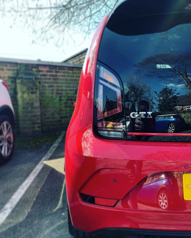 Things are on the Up! And we love this @volkswagen_uk Up GTi that's been delivered to our customer on a 24 month contract!