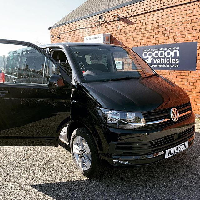 This @volkswagen_uk Transporter akimbo has been delivered to @stauntonharoldweddings which isn't too far away from us.