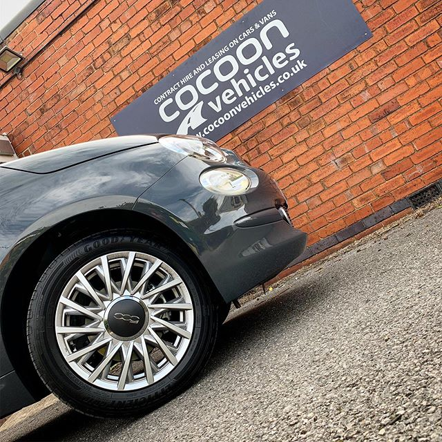 Fiat 500 arrived and ready to go out to a new customer on a short term car lease!