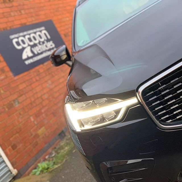 Black Volvo XC60 being delivered to a new customer in today! 6 month contract.  We've got lots of Volvo's coming through for March delivery, secure yours today. @volvocaruk
