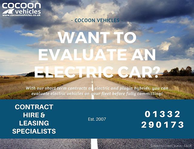Want to see how an Electric car performs on your fleet before fully committing?  Then you may want to try taking one on a short term car lease!  Find out more on our website!