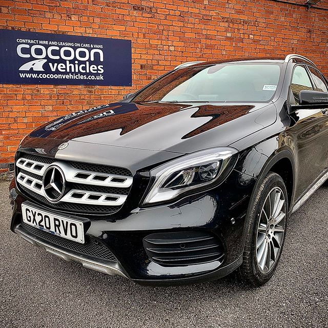 Mercedes GLA off out to Nottingham this morning to an existing customer.  6 Month Car Lease!  See the website for more information!