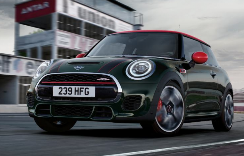 Mini JCW delivered to Manchester
