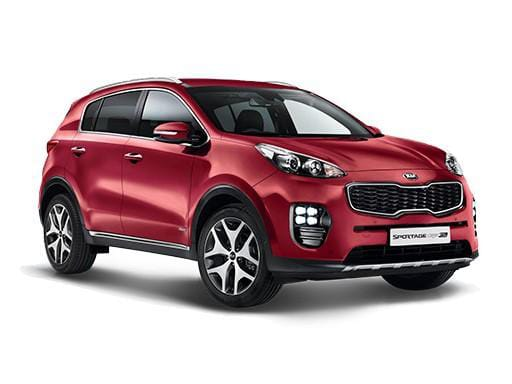 Kia Sportage Estate 1.6T Gdi ISG 2 AWD on 12 month car lease
