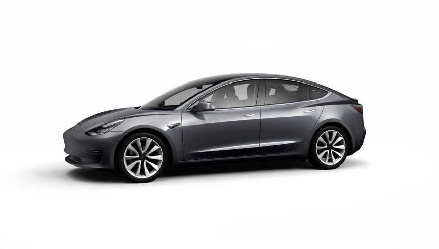 Tesla Model 3 Saloon Standard Plus on 18 month car lease