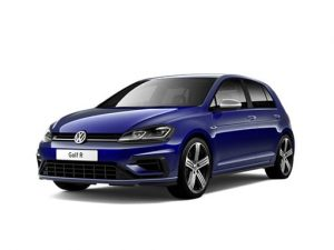 Volkswagen Golf Hatchback 2.0 TSI 300 R 4MOTION DSG on 12 month car lease