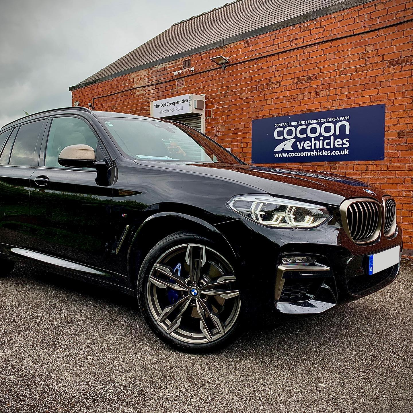As promised... the photos of the BMW X3 M40i that we handed over on Friday to an existing customer.  We've already received feedback from the customer who loves it already!