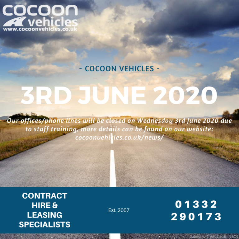 Cocoon closed 3rd June 2020