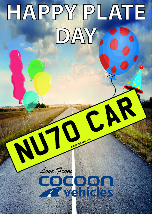 Happy Plate Day - 70 Plates - Car Leasing