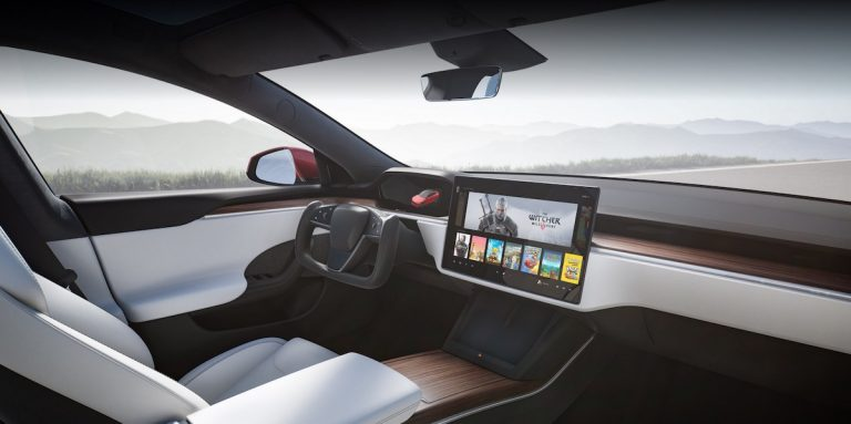 Tesla Model S and X Yoke Legal in the UK