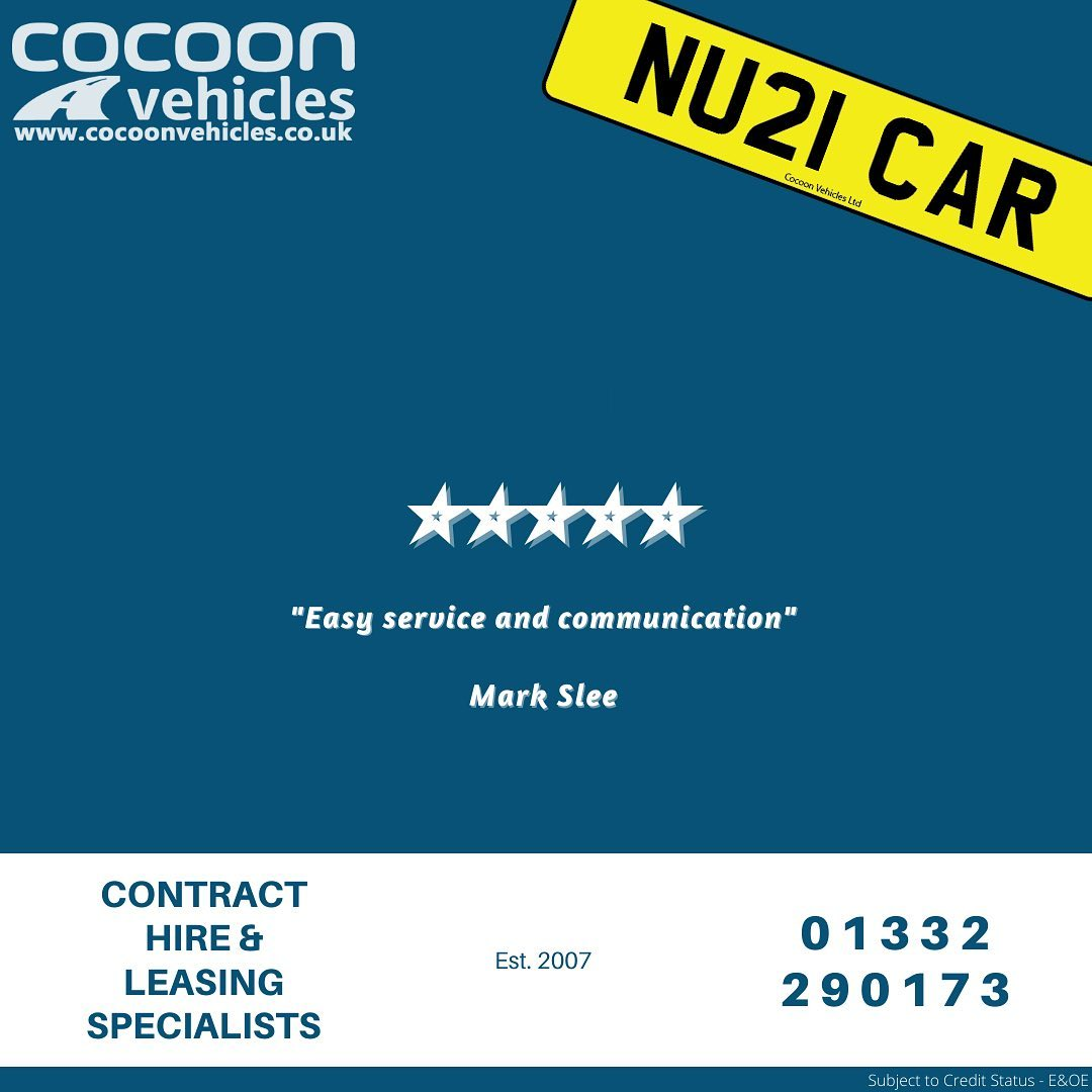 """""""Easy service and communication"""" Mark Slee  Amazing 5-star Google Review for Cocoon Vehicles Ltd"""