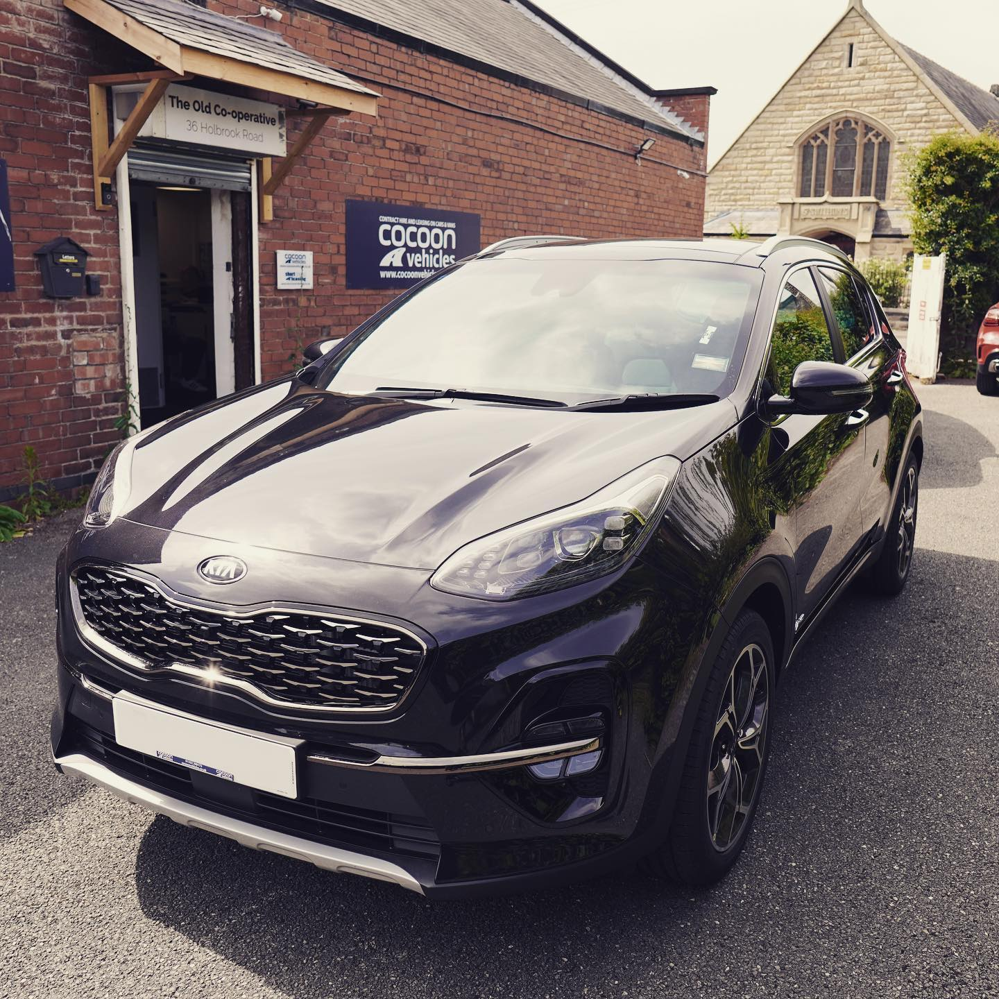 As promised, photos of the @kiamotorsuk Sportage that went out to Wales on a 6 month car lease.