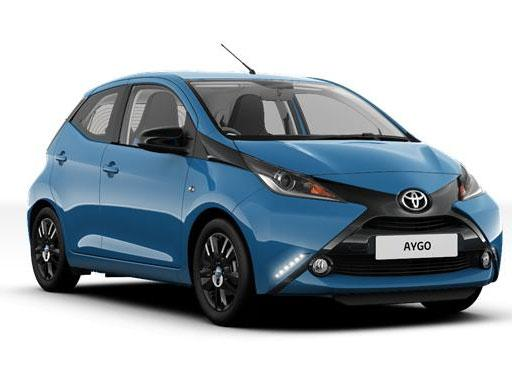 Toyota Aygo Hatchback 1.0 VVT-I X-Play [3+11] 5dr Manual